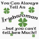 Funny Irish Woman by HolidayT-Shirts