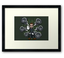 Bullet Time Bill Framed Print