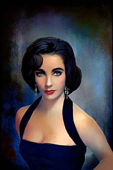 Elizabeth Taylor by andy551