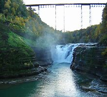 Letchworth State Park by Penny Rinker