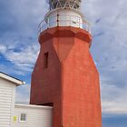 Newfoundland Lighthouse by Eunice Gibb