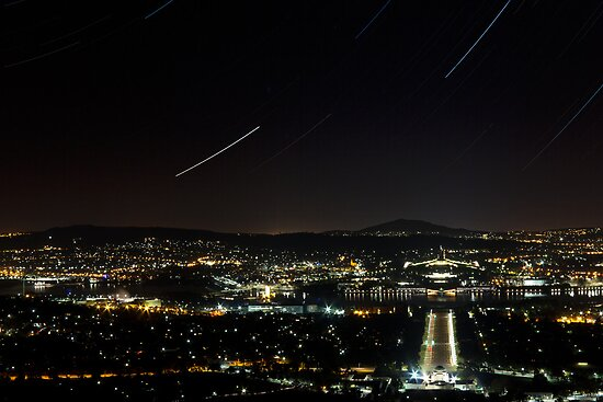 Mt Ainslie, Canberra by Withns