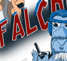 Yippee Ki-Yay, Mr Falcon! Sticker