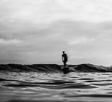 Longboard water blur by Ben Osborne