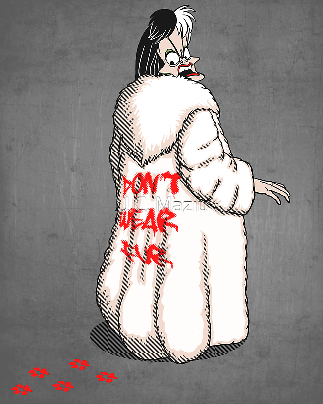 Don't wear fur! by J.C. Maziu