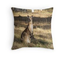 Oh Holy Mother Throw Pillow