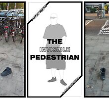 T.I.P. (The Invisible Pedestrian) - Amsterdam by AnnoNiem Anno1973