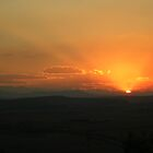 Sunset over the Drakensberg Mountains, South Africa by MiRoImage