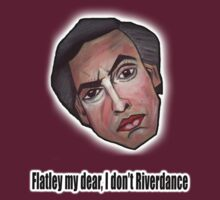 Flatley my dear, I don't Riverdance - Alan Partridge Tee by YouRuddyGuys