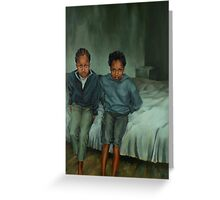 Together Alone Greeting Card