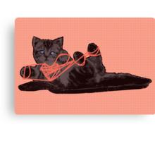 Cat's Cradle Canvas Print