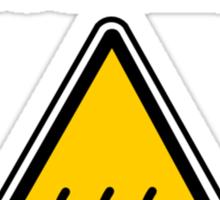 Danger I´m HOT Sticker