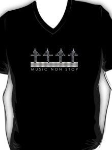 PIXEL8   Music Non Stop   Kraftwerk Monochrome T-Shirt
