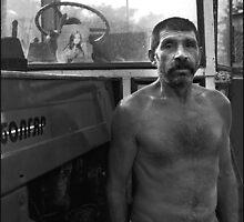 Tractor Driver by Stefan Kutsarov
