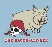 The Bacon Ate Her by bungeecow