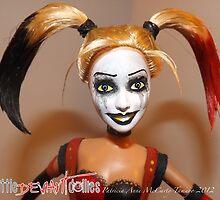 Harley Quinn face by deviantdolls