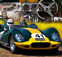 1958 Lister Jaguar Knobbly Replica by Stuart Row