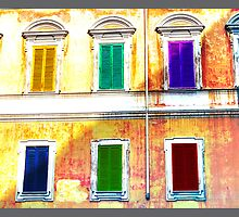 colors and geometries by salvo