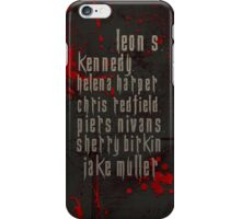 Resident Evil 6 iPhone Case/Skin