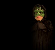 masked monster by lensbaby