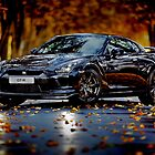Nissan Gtr.The Super-car by fine-art-prints