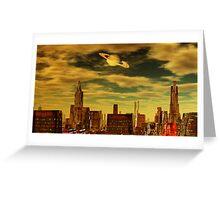 Gotham City - Ringworld Greeting Card