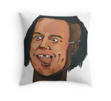 The Black Brad Pitt (Bromance #Special) Throw Pillow