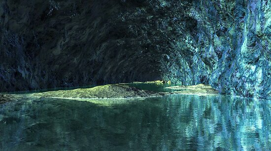 Blue Grotto - Saphirus - Orion Galaxy by AlienVisitor