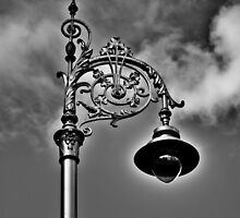 Dublin in Mono: Street Lamp by Denise Abé