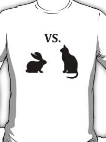 bunny vs cat  T-Shirt