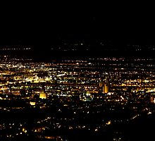 City at Night by Terzic