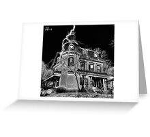 Crowned house Lowell Ma Greeting Card