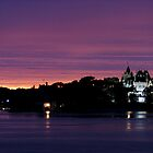 A Boldt Castle Evening by Dan Phelps