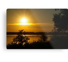Onondaga Lake Sunset Metal Print