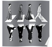 Downton Abbey Road Poster