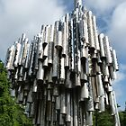 The Sibelius Monument  by Trish Meyer