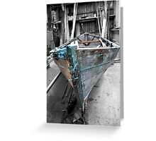 love of boats from the shed [2] Greeting Card