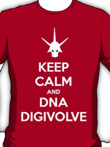Keep Calm and DNA Digivolve V2 T-Shirt