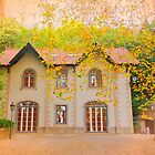 chalet in autumn by terezadelpilar~ art & architecture