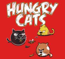 Hungry Cats by JoeAngelillo