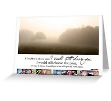 January 2013 - Lost for Words Calendar Greeting Card