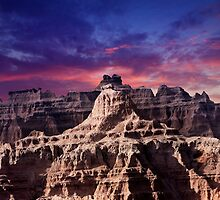 Sunrise over Badlands National Park .7 by Alex Preiss