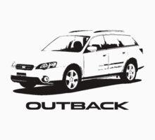 Subaru Outback 2004 by garts