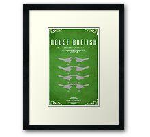House Baelish Framed Print