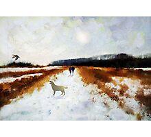 Broadland walk'... Photographic Print