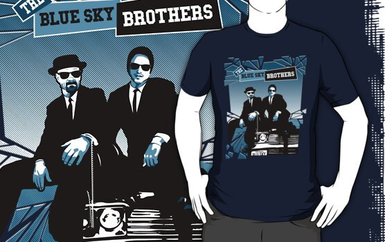 The Blue Sky Brothers by David Benton