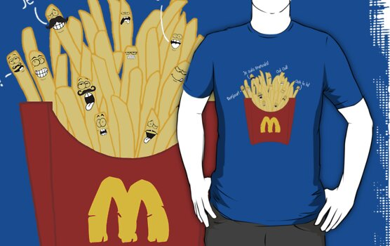 French Fries by goldenote