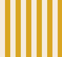 IPHONE CASE - Goldenrod & Buttermilk Cream stripes. Image No. 179 by chompo