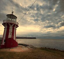 Leaning Lighthouse of Sydney by yolanda