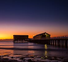 First Light at Queenscliff by Julie Begg